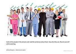 esl lesson jobs elementary worksheets aquatechnics biz