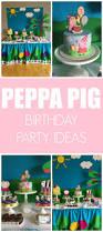 peppa pig birthday party pretty my party