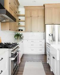 are brown kitchen cabinets outdated an outdated kitchen gets a glam farmhouse makeover kitchen