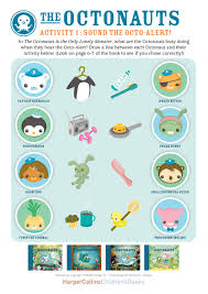 octonauts book activity sheets octonauts party
