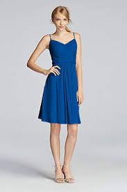 royal blue bridesmaid dresses short u0026 long david u0027s bridal