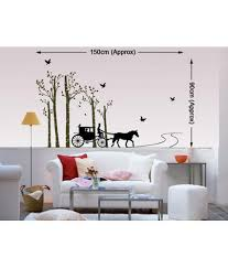 decals arts printed pvc vinyl multicolour wall stickers buy
