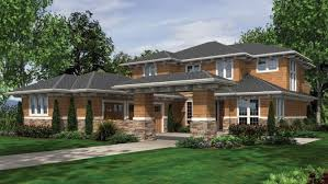 prairie style home new modern prairie style house plans new home plans design