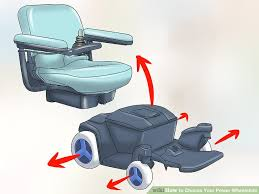Power Chair With Tracks How To Choose Your Power Wheelchair 14 Steps With Pictures
