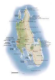 island on map map of zanzibar and pemba islands tanzania