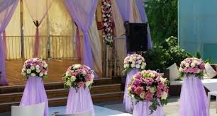 purple wedding decorations purple wedding reception decor purple picture