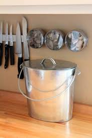 compost canister kitchen 10 easy pieces kitchen compost pails galvanized buckets