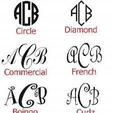 monogram christmas christmas ornament