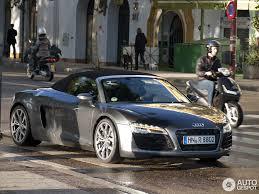 Audi R8 Grey - audi r8 v8 spyder 2013 10 november 2012 autogespot