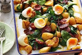 Warm Warm Chorizo And Potato Salad