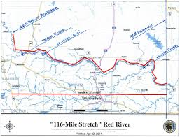 Old Texas Map Feds Landowners Trying To Resolve 29 Year Old Red River Property