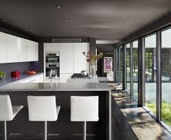 modern design open kitchen with breakfast bar khabarsnet norma kitchen modern kitchen breakfast bar with l shaped design