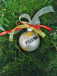 Soccer Ornaments To Personalize Volleyball Ornament Personalized Christmas Ornament Hand