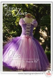 robe tutu déguisement de reine des neiges 2 fête givrée costume
