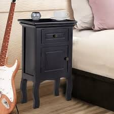 Black Nightstand With Drawers Black Nightstands U0026 Bedside Tables Shop The Best Deals For Dec