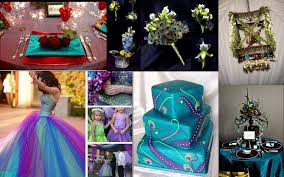 peacock wedding tbdress the aristocratic peacock wedding theme ideas