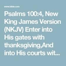 psalm 100 4 kjv king bible psalm 100 king