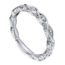 engraved wedding bands 14k white gold geometric engraved wedding band wedding day diamonds