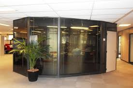 d agement bureau les cloisons de bureau vitrées toute hauteur espace cloisons alu