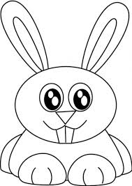 printable rabbit coloring pages for kids coloringstar