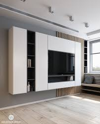tv stand in white creative execution wall units pinterest tv