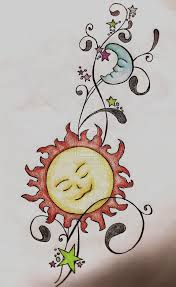 designs sun moon 1000 images about sun moon on