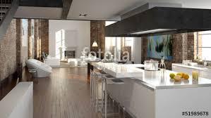 luxus küche luxus küche in einem loft stockfotos und lizenzfreie bilder auf