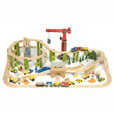 Make Wood Toy Train Track by Free Battery Operated Train From Little Bundles Traditional Toys