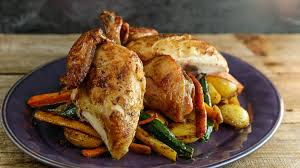Roast Whole Chicken Brined Roasted Chicken And Vegetables Recipe