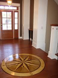 compass hardwood floor medallion 72 namaka style