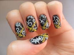 crime scene nail art tutorial youtube