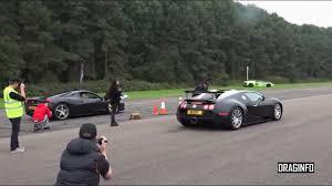 bugatti vs laferrari vs bugatti veyron drag race moto trends