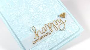 happy anniversary card make a card monday 223