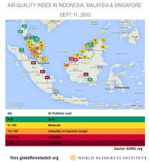 Air Quality Map Usa by Land And Forest Fires In Indonesia Reach Crisis Levels World