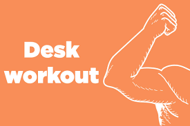 Office Desk Workout by Get Stronger Arms Without Lifting Weights Reader U0027s Digest