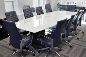 Back Painted Glass Conference Table Tables By Style Arnold Contract