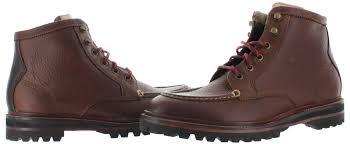 s boots wide width cole haan judson s moc leather boots wide width waterproof ebay