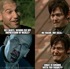 Daryl Walking Dead Meme - shane making daryl cry the walking dead pinterest crying