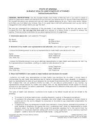 health care power of attorney template health care power of