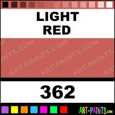 light red artist watercolor paints 362 light red paint light