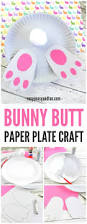 bunny paper plate craft easy peasy and fun