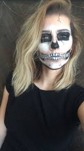 Halloween Skeleton Makeup Faces by 12 Best Skeleton Makeup Images On Pinterest Halloween Ideas