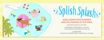 pool party invitations pool party bbqs 4th of july invitations evite