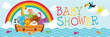 noah ark baby shower 6 noah s ark party banner 20 x 60 baby shower