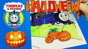 thomas friends halloween coloring book thomas tank engine