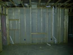 home theater in wall speakers installing in wall speakers in an exterior basement wall avs