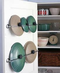 kitchen cabinet door pot and pan lid rack organizer pots and pans organizer ideas finally achieve cookware