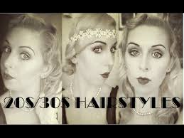easy 1930 hair 1920s 1930s easy hair tutorial hairstyles throughout the decades