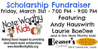 Beaner Scholarship Fundraiser March 31st At Beaner U0027s Central Note