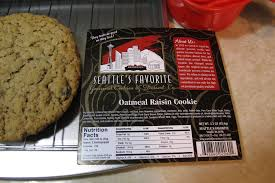 Wholesale Gourmet Cookies Oatmeal Raisin Gourmet Cookie Seattle U0027s Favorite